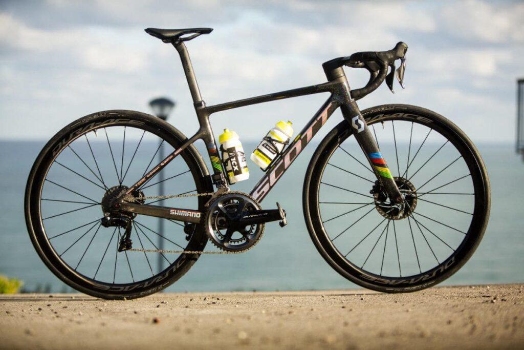 fiets van Annemiek van Vleuten