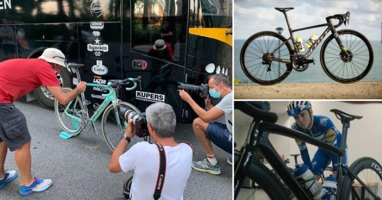 Wout van Aert redt de velgrem: de winnende fietsen van het weekend