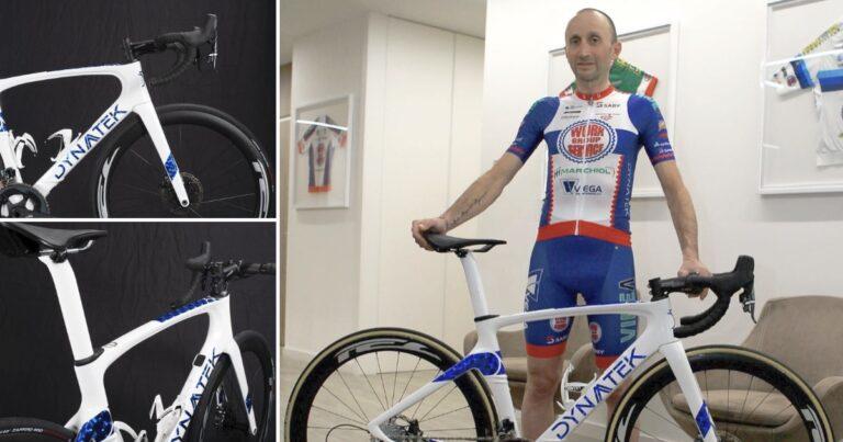 Davide Rebellin is toe aan zijn 29e racefiets als profrenner