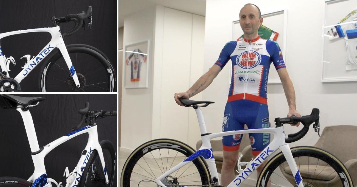 Davide Rebellin racefiets