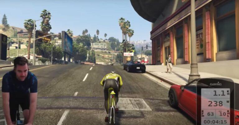 Leuker dan Zwift? Je kunt nu fietsen in Grand Theft Auto V