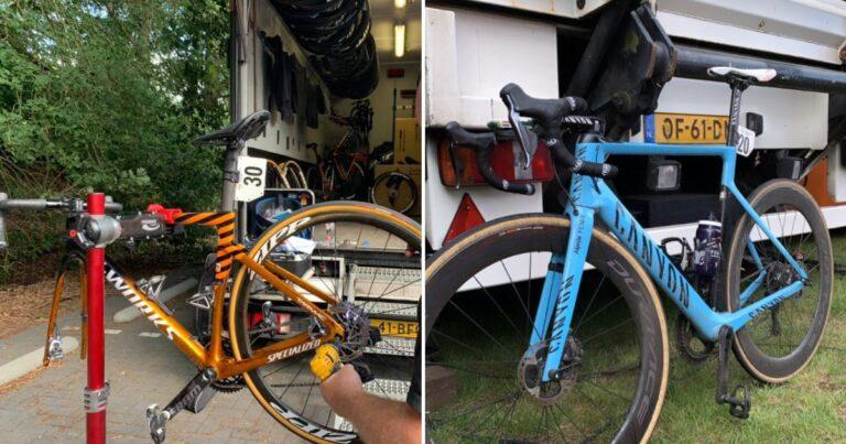 Over dikke banden en een witte broek: de winnende fietsen van het weekend