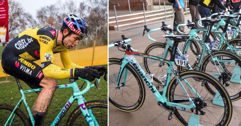 Waarom zijn racefietsen van Bianchi eigenlijk celeste?