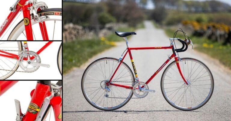 De fiets van Joop: 40e verjaardag tourzege gevierd met TI-Raleigh replica