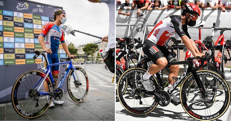Overzicht: de fietsen van de Tour de France (2020)