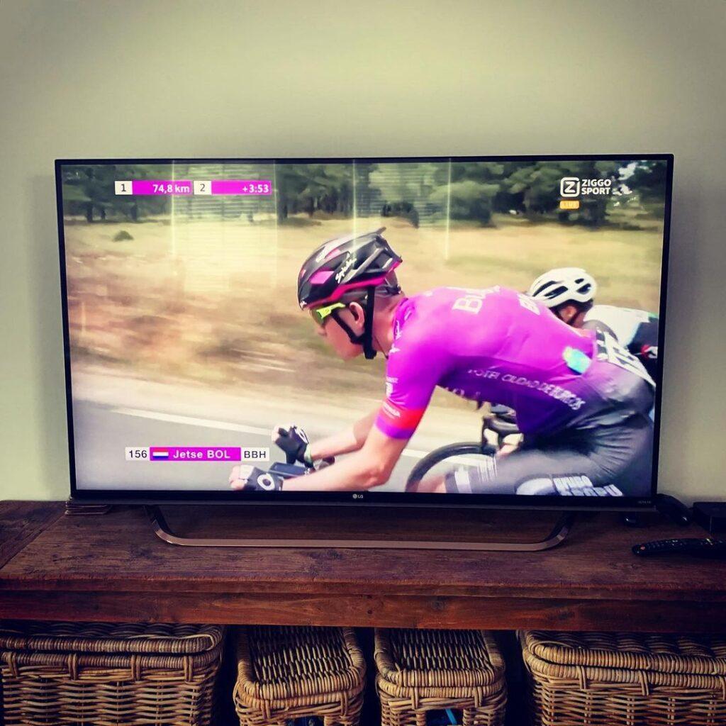 wielrennen op tv