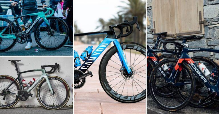 WorldTour fietsen 2021: met welk materiaal rijden de profs?